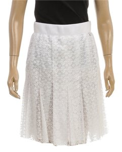 Chanel Skirt White