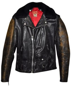 Indian Motorcycles Dark brown or Black Leather Jacket