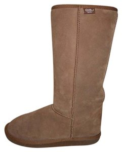 EMU Leather Suede Wool Tall tan Boots