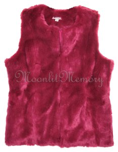 Boston Proper New Without Tags Faux Fur Vest