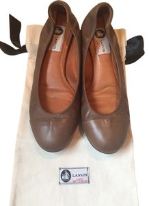 Lanvin Brown Flats