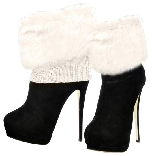 Other Ivory Fur Top Leg Warmer Boot Socks Boot Topper