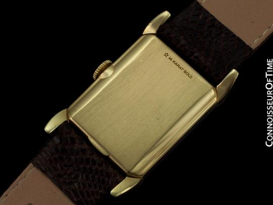 Longines 1950 Longines Vintage Mens Dress Watch - 14K Gold
