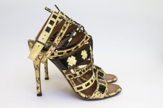 ALAA Black and Gold Pumps