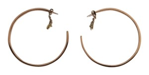 Folli Follie Folli Follie Rose Gold Hoops Earrings