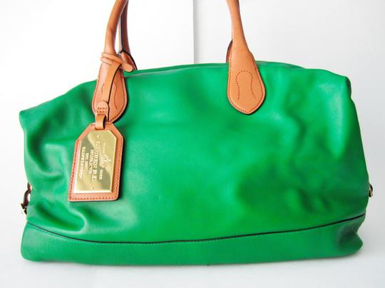 Lauren Ralph Lauren Satchel in Green