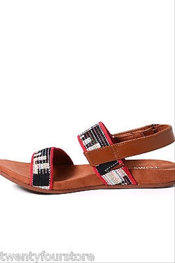 Other Ankle Strap Brown Sandals