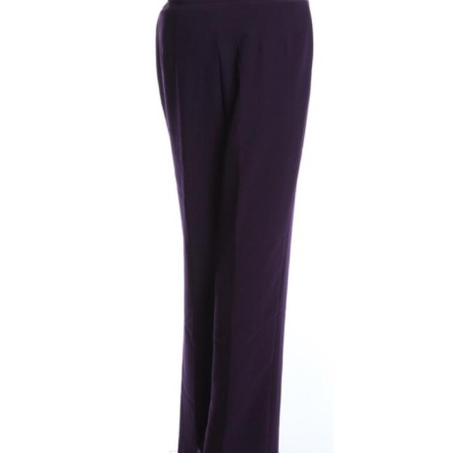 Talbots Straight Pants Eggplant Purple