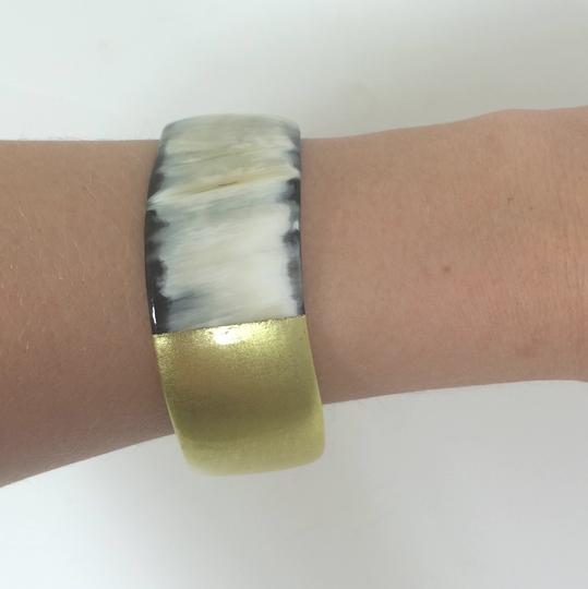 "Kevia ""bundle and SAVE!"" Painted Horn Bangle Bracelet"