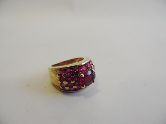 Technibond Technibond Lab Created Ruby Band Ring size 7 HSN