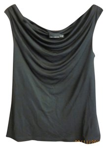 The Limited Sleeveless Cowl Neck Top Black