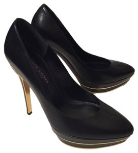 Ralph Lauren Collection Black Pumps