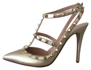 Valentino Golden Pumps