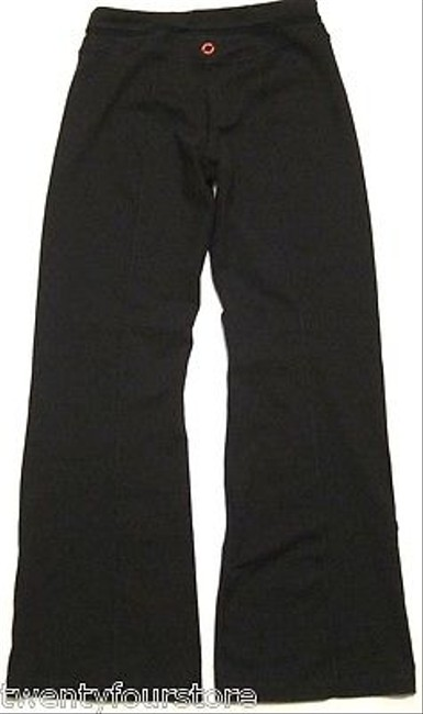 Other Womens Equinox Nyc Gym Yoga Flare Groove Pants In Black W Seams In Black