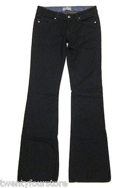 Paige Laurel Canyon In Eclipse Dark Blue 27 Boot Cut Jeans