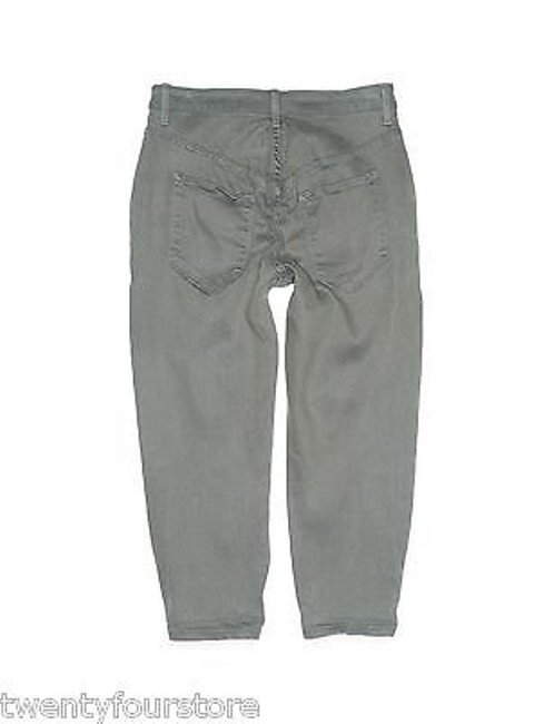 Helmut Lang Crop In Gray Denim 25 Style Boyfriend Cut Jeans