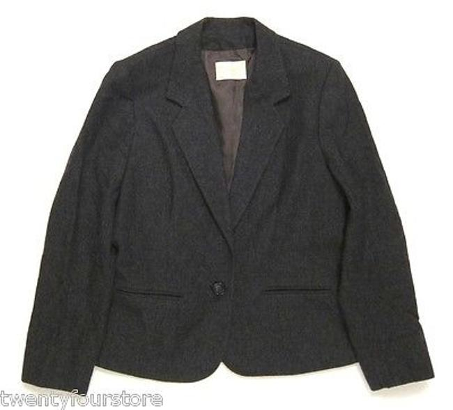 Item - Womens Vintage  Woolen Mills Gray Blazer Jacket Made In Usa
