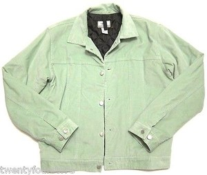 Toad&Co Horny Toad Insulated Baby Green Womens Jean Jacket
