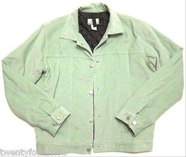 Toad&Co Horny Toad Insulated Baby Corduroy Jean In Mint Green Womens Jean Jacket