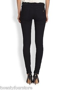 Rag & Bone Mid Rise In Midnight Blue Repair Tlc Jeggings