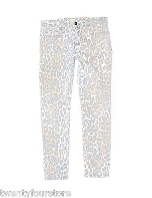 JOE'S Jeans Wild Collection High Water High Waist Ankle In Leopard 27 Skinny Jeans
