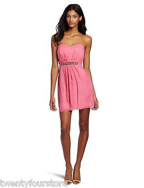 Preload https://item2.tradesy.com/images/twelfth-st-by-cynthia-vincent-party-tube-silk-dress-in-pink-6038401-0-0.jpg?width=400&height=650