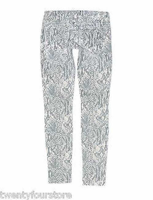 Current/Elliott The Ankle In Canvas Snake Print 25 Skinny Jeans