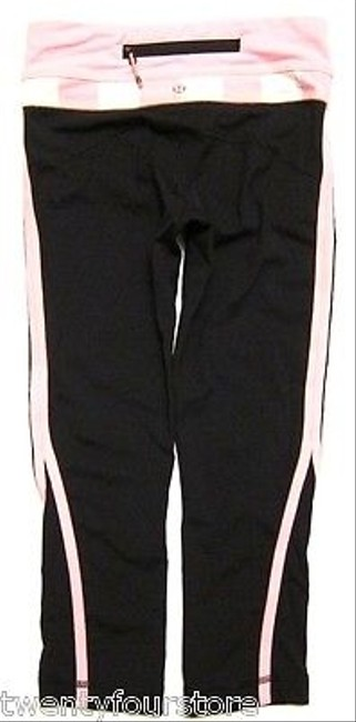 Lululemon Lululemon Run Up The Pace Tight Crop In Black Pink White