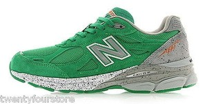 New Balance Womens 990 Green Athletic