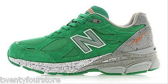 New Balance Womens Balance 990 Boston Limited Edition In Kelly Green Athletic