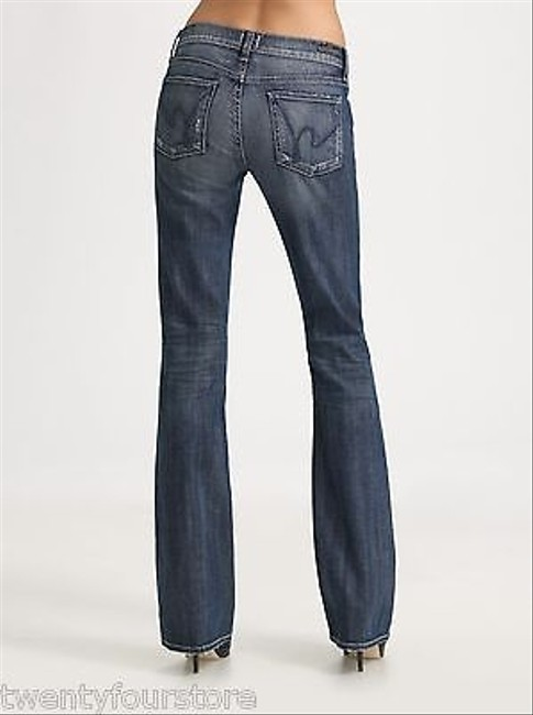 Citizens of Humanity Kelly In Vital Blue 25 Boot Cut Jeans