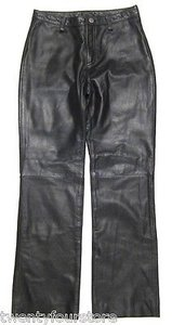 Banana Republic Leather In Blue Gray 0 X Boot Cut Jeans