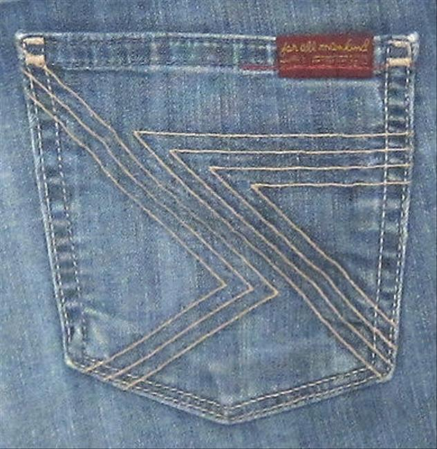 7 For All Mankind Seven Flynt Slim In Saint 25 Boot Cut Jeans