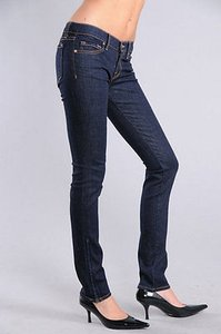 J Brand J The Deal 9612 Pencil Skinny Straight Zipper Leg In Ink Skinny Jeans