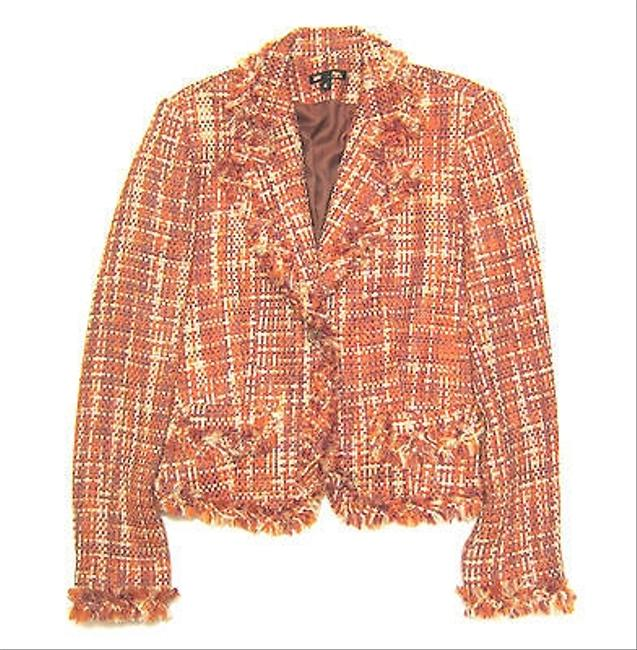 Preload https://item4.tradesy.com/images/paniz-paniz-boutique-tweed-one-button-blazer-made-in-the-usa-6039418-0-0.jpg?width=400&height=650