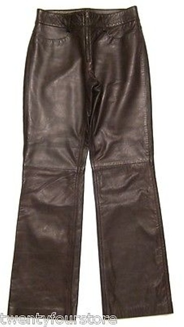 Preload https://item2.tradesy.com/images/banana-republic-leather-bootcut-jeans-in-brown-0-x-6039661-0-0.jpg?width=400&height=650