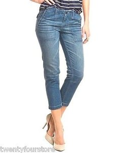 AG Adriano Goldschmied The Utility 15 Years Aged Capri/Cropped Denim