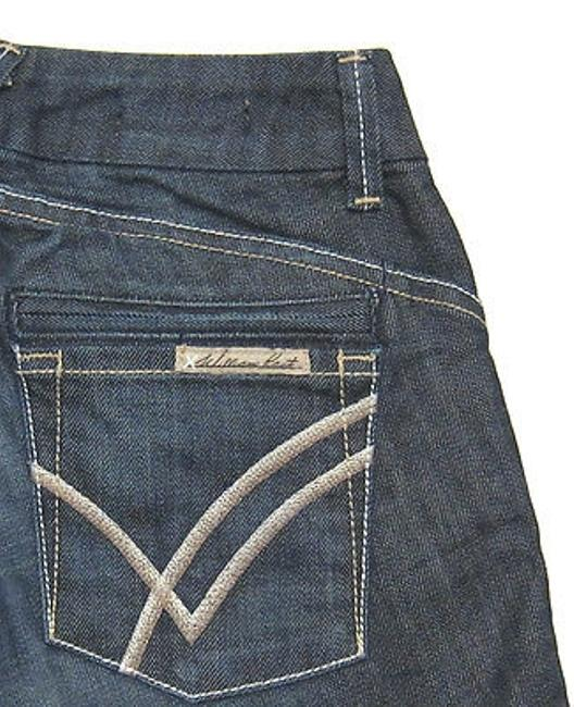 Item - Jeans Savoy Ultra Low Rise Trouser Flare In Evening 25 Short