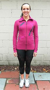 Lululemon Lululemon Origami Stride Jacket In Hydrangea Raspberry Pink