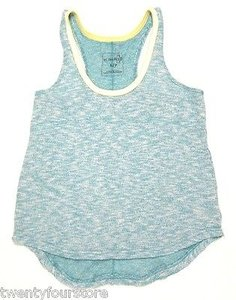Free People People We The Venice Vibes Tank Green Blend Sweater