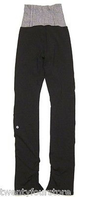 Lululemon Lululemon Flip Up And Out Pant High Waist Ruching Slit Legs -