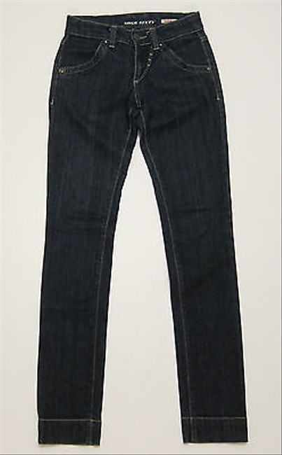 Miss Sixty High Binky Leg Dark Rinse Denim Skinny Jeans