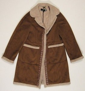 3.1 Phillip Lim Womens For Barneys Ny Sherpa Jacket Coat
