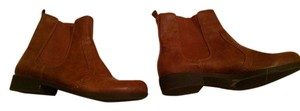 Victor Alfaro Womens Size 7.5 Free Shipping Cognac Brown Boots