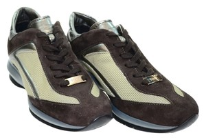 Tod's Brown/dark silver Athletic
