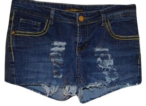 South Pole Collection Jeans Womens Summer Jeans Girls Shorts BLUE