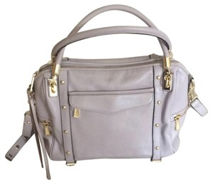 Rebecca Minkoff Tote in Grey/lavender with Gold Accents