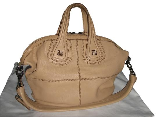Givenchy Goat Small Nightingale Leather Tote in Beige