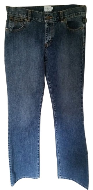 Preload https://item3.tradesy.com/images/calvin-klein-blue-medium-wash-stretch-denim-boot-cut-jeans-size-30-6-m-6044617-0-0.jpg?width=400&height=650