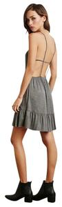 Forever 21 short dress Charcoal on Tradesy